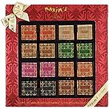 Maxim's de paris Etui 32 Carrés de Chocolats Assortis Noël 160 g