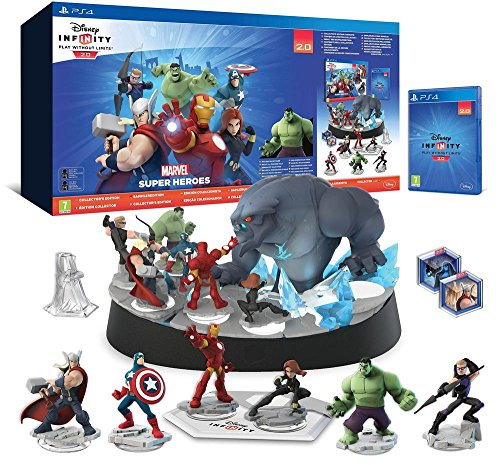 Disney Infinity 2.0 : Marvel Super Heroes - pack de démarrage (Inclus Hulk) - édition collector