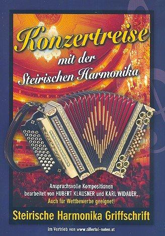 Konzertreise mit der steirischen Harmonika (in Griffschrift)