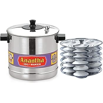 Anantha Aluminium 6-Plates Idly Maker (Anantha Alu idli 6)
