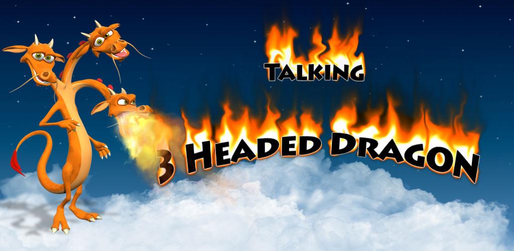 Zoom IMG-1 talking 3 headed dragon free