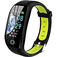Tipmant Fitness Armband mit Pulsmesser Blutdruckmessung Smartwatch Fitness Tracker Wasserdicht IP68 Fitness Uhr…