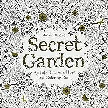 Secret Garden: An Inky Treasure Hunt and Colouring Book by Johanna Basford (4-Mar-2013) Paperback