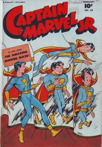 Captain Marvel Jr Volume 58 Comic book: Illustrated (English Edition)