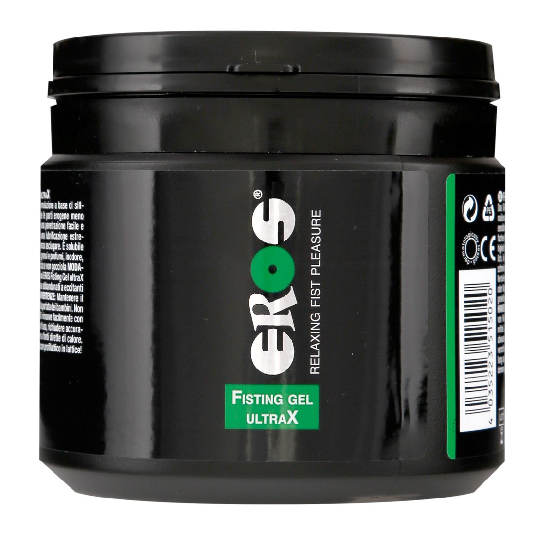 EROS Gel Lubrificante per FISTING Ultrax 500 ML a Base Acquosa