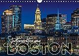 Stadtansichten aus Boston (Wandkalender 2019 DIN A4 quer): Sehenswürdigkeiten und idyllische Orte (Monatskalender, 14 Seiten ) (CALVENDO Orte)