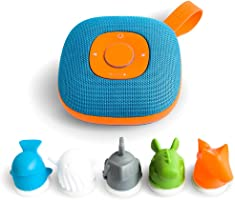 JookiAltavoz para niños con Spotify de integración, controlables por 5Figuras Incluido (Tarjetas de Memoria microSD de...