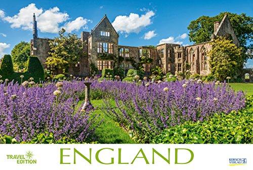 England  2019: Großer Foto-Wandkalender mit Bildern aus Britannien. Travel Edition mit Jahres-Wandplaner. PhotoArt Panorama Querformat: 58x39 cm.