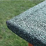 Kleintierstall über 2 Ebenen, geeignet für Kaninchen und Meerschweinchen, mit grüner Abdeckung und erhöhten Füßen, 1,2°m - 6