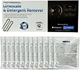 Indesit Indesit Limescale And Detergent Remover (Box Of 12) (Hotpoint/Creda Spares, Consumable) Helps Kill Bacteria And Eliminates Odours And Keeps Your Washing Machine Smelling Fresh