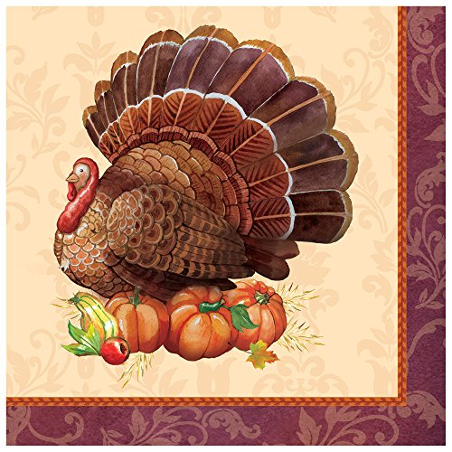 creative-converting-thanksgiving-elegance-lunch-napkins-brown