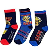 Feuerwehrmann Sam - Auswahl Kinder Socken Strümpfe 3er Pack