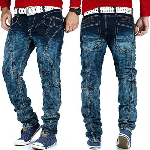 Cipo & Baxx Herren Jeans Top Design Blau