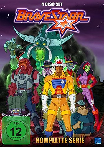 Bravestarr - Gesamtbox inkl. Legende - New Edition [4 DVDs]