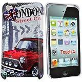 Accessory Master t4 london STR  Coque de protection pour Apple iPod touch 4 Gris