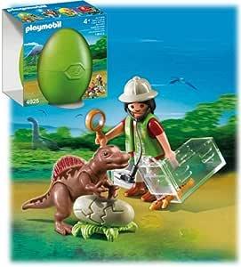 PLAYMOBIL® 4925 - Osterei - Forscherin mit Dino Baby