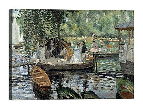 Auguste Renoir Leinwand (Bild auf Leinwand mit Keilrahmen aus Holz Auguste Renoir La Grenouillère 70x50 CM)