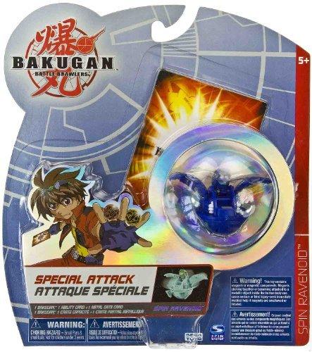 Spin Ravenoid (Aquos) - Bakugan Trap New Vestroia Series -