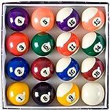 Billard - Zubehörset ALL IN ONE - Komplettset inkl. 5 Queues, Billardkugeln, Dreieck und diversen Extras, Zubehör Set, Pool, Snooker - 3