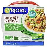 Bjorg Plat Cuisiné Légumes au Tofu et Coco Bio 300 g - Lot de 3