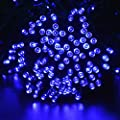 lederTEK Solar Powered Waterproof Fairy String Lights 72ft 22m 200 LED 8 Modes Christmas Decorative Lamp for Outdoor, Garden, Home, Wedding, Xmas Tree New Year Party by lederTEK