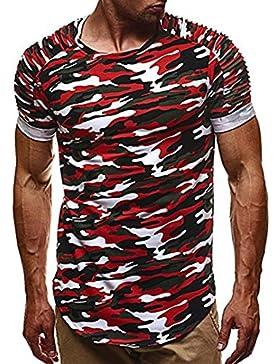 FAMILIZO Camisetas Manga Corta Hombre Moda Camisetas Hombre Camuflaje Camisetas Hombre Sport Camisetas Hombre...