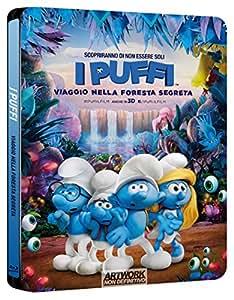 I Puffi : Viaggio nella Foresta Segreta (Steelbook) (Blu-Ray)