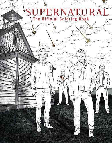 SUPERNATURAL: THE OFFICIAL COLORING BOOK por INSIGHT EDITIONS