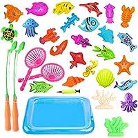 Togather® Angelspiel Magnetisch Badewannenspielzeug Badespielzeug Wasserspiele Garten Lernspiele ab 3 Jahren preisvergleich bei kleinkindspielzeugpreise.eu