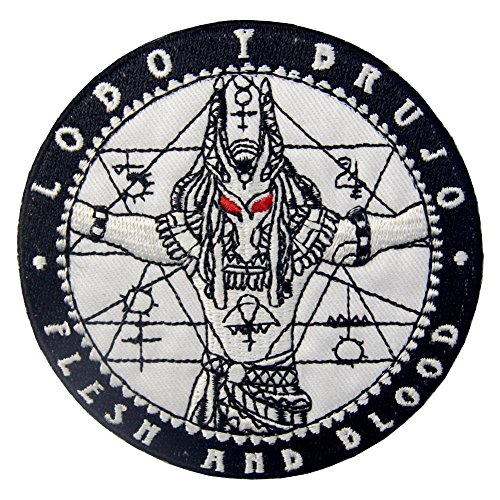 ZEGIN Aufnäher, bestickt, Design: Anubis Beschützer der Toten, zum Aufbügeln oder - Anubis Kostüm Männer