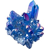 Artibetter 100 G di Pietra di Zaffiro Grezzo Pietra di Cristallo Blu Naturale Pietra di Cristallo di Guarigione Roccia di Qua