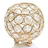 Perline di cristallo Tealight Candela votiva diametro da 8 cm per Holder nozze Centrotavola Decoration