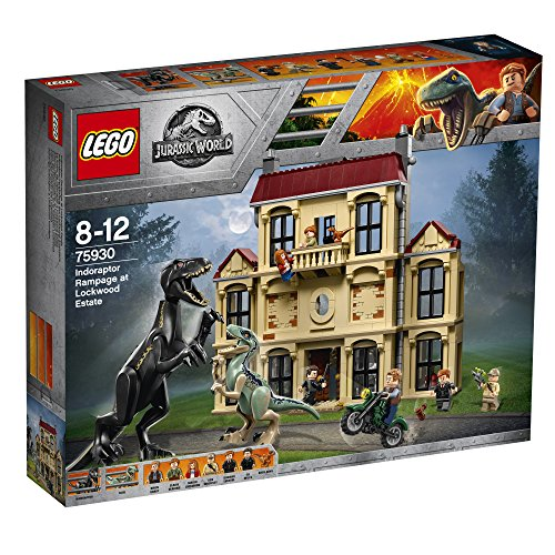 Lego Jurassic World - La fureur de Indoraptor à Lockwood Estate - 75930 - Jeu de Construction