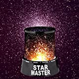 #7: Samplus Romantic LED Cosmos Star Master Sky Starry Night Projector Bed Light Lamp