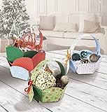 "Folia 965Kit per cestino regalo Natale"""