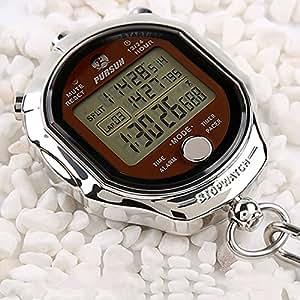melt cronometro, display digitale 1/1000 secondi Precision Outdoor metallo elettronico digitale cronografo timer per basket calcio baseball sport outdoor by Laopao