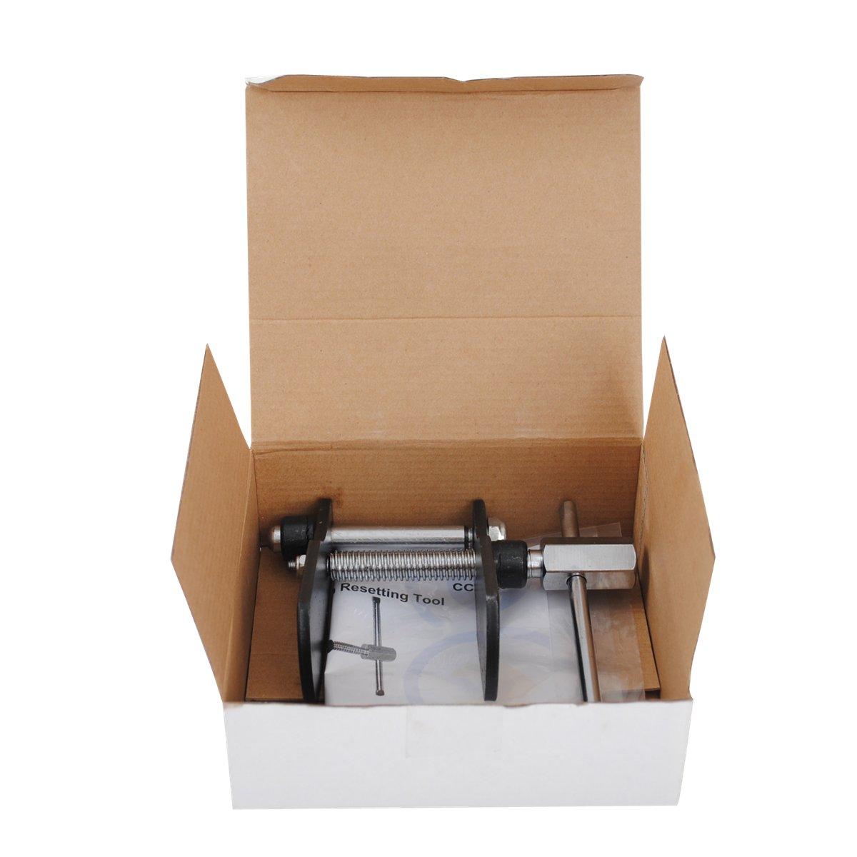 CCLIFE Universal Bremskolbenrücksteller Satz Bremskolben Rücksteller Werkzeug für Bremskolben ohne Drehvorrichtung