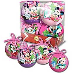 Minnie - Disney - Scatola 4 palline di Natale 6502