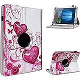 Archos 101b Oxygen Tablet Funda Case Protección cover 360° giratorio