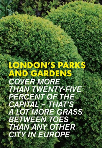 London's Parks & Gardens (Eat.Shop Guides)