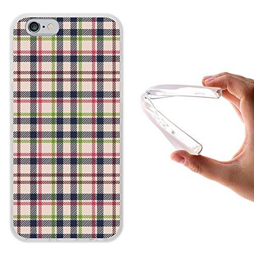 iPhone 6 6S Hülle, WoowCase Handyhülle Silikon für [ iPhone 6 6S ] Tier Schwarze haut des krokodils Handytasche Handy Cover Case Schutzhülle Flexible TPU - Transparent Housse Gel iPhone 6 6S Transparent D0533
