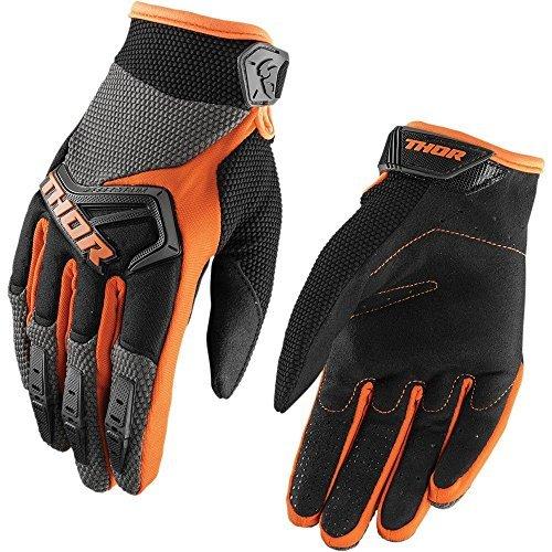 Handschuhe Thor (Kinder Thor Spectrum Handschuhe 2018 Crosshandschuhe Quad Offroad Enduro ATV Fahrrad Mountainbike Downhill XXS XS S M L schwarz weiß rot blau orange gelb grün (S, Grau /)