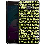 Samsung Galaxy A3 (2016) Housse Étui Protection Coque Sapce Invaders Alien Motif