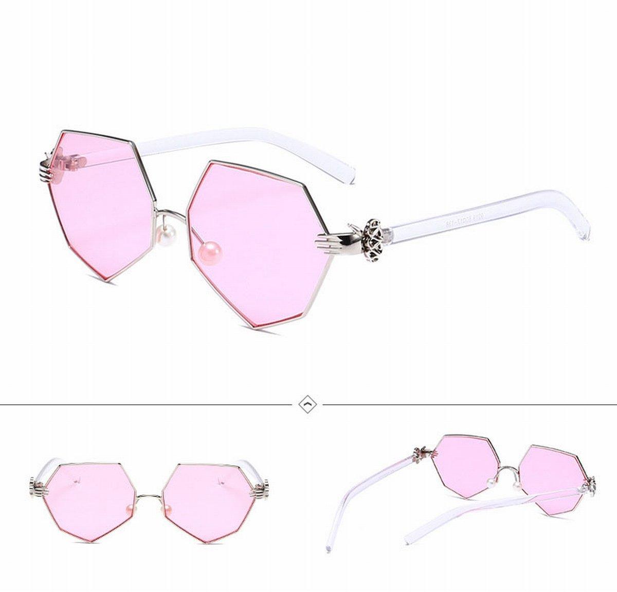 Sonnenbrille Wunderschöne Mehrfarbige Palme Sonnenbrille , Gold-Box Lila Pulver Tabletten