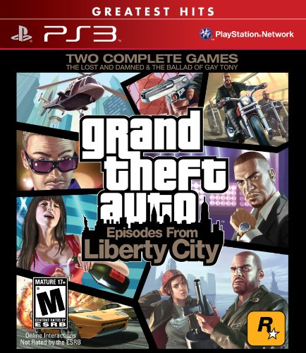 Grand Theft Auto: Episodes From Liberty City (ps3) [us Import]
