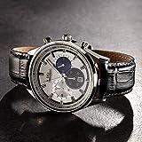 Luca Maranello Nobile Chronograph Silber/Schwarz/Blau G4825C