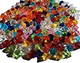 200 unidades 15 mm reluciente Multicolor Decoración Hielo Diamantes Brillantes acrílico Piedras Manualidades gltzer brillantes piedras decorativas para decorar Decorar de Crystal King