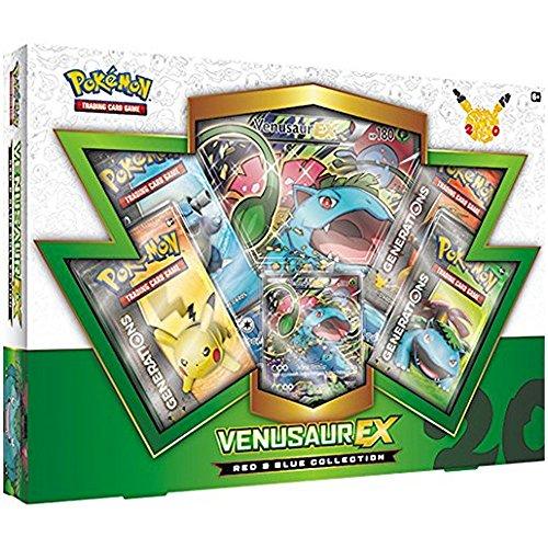 Pokemon Red + Blue Collection VENUSAUR EX Collection Box (english) (Pokemon Generation)
