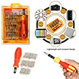 DeoDap Professional Tool Accessories-32 In 1 Interchangeable Precise Screwdriver Tool Set With Magnetic Holder