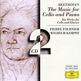 Beethoven: The Music for Cello and Piano by Pierre Fournier Wilhelm Kempff (B000001GY1) | Amazon Products